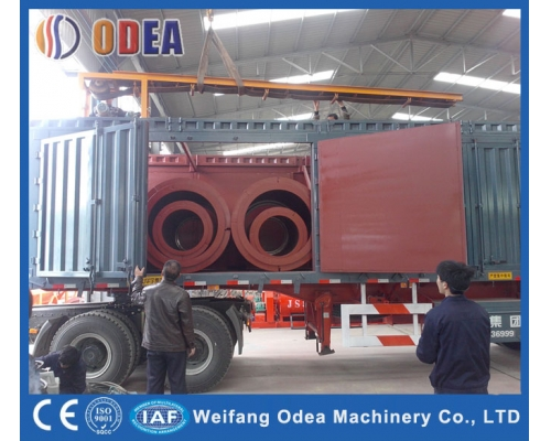 Iran Concrete Pipe Making Machine