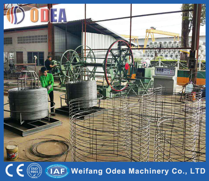 Auto Cage Welding Machine for cement pipe
